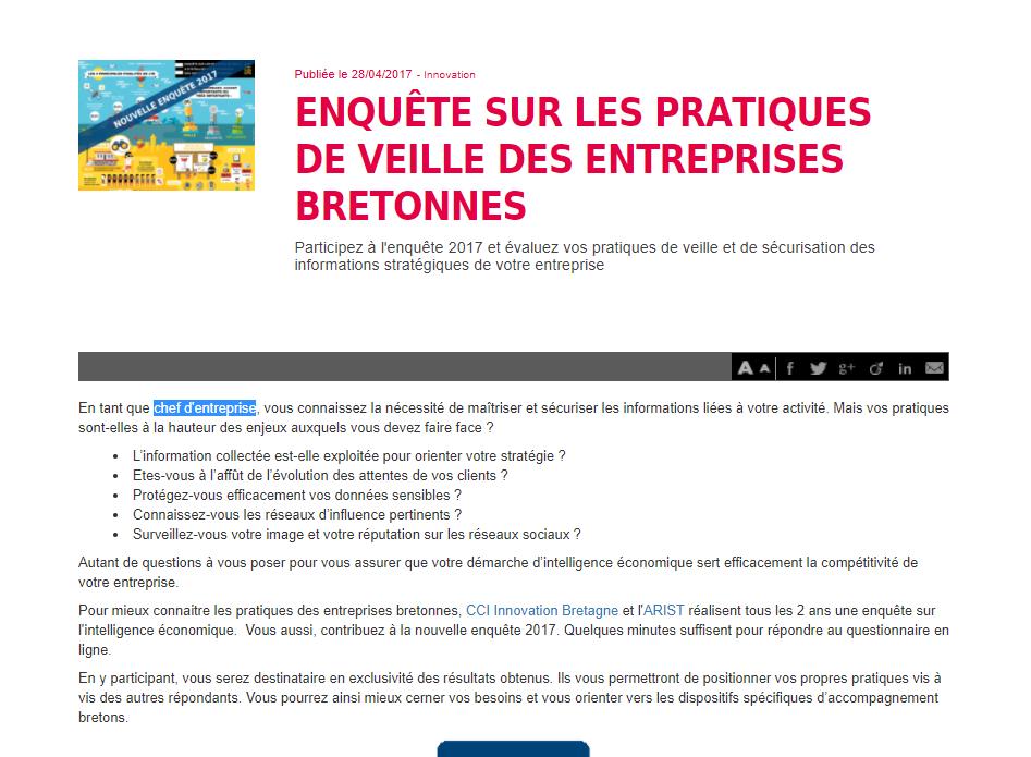 Bretagne Economique CCI