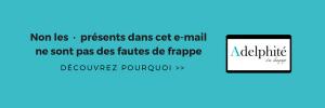 Signature email Adelphité du Langage - logotée