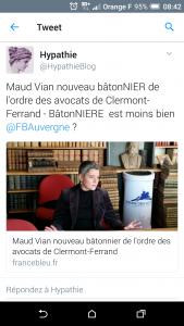 Batonnière - via Hypathie