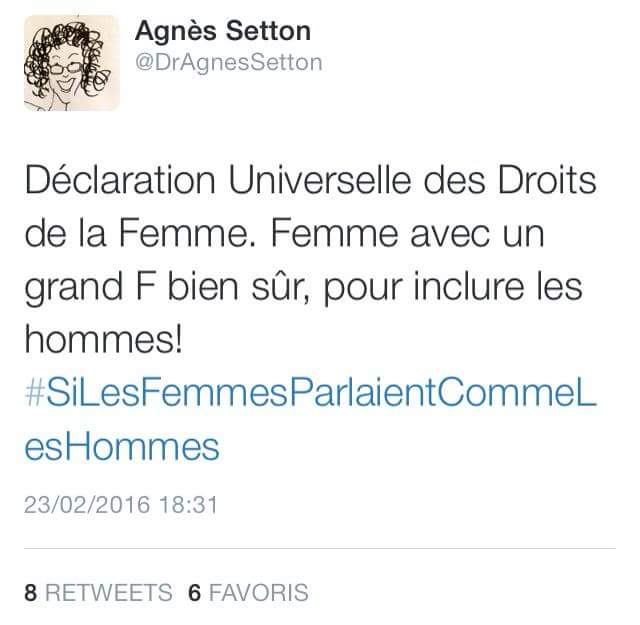 Tweet Agnès Setton
