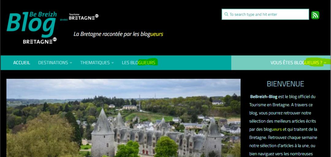 Les blogueurs de Bretagne de BeBreizh Blog Officiel de Tourisme Bretagne.