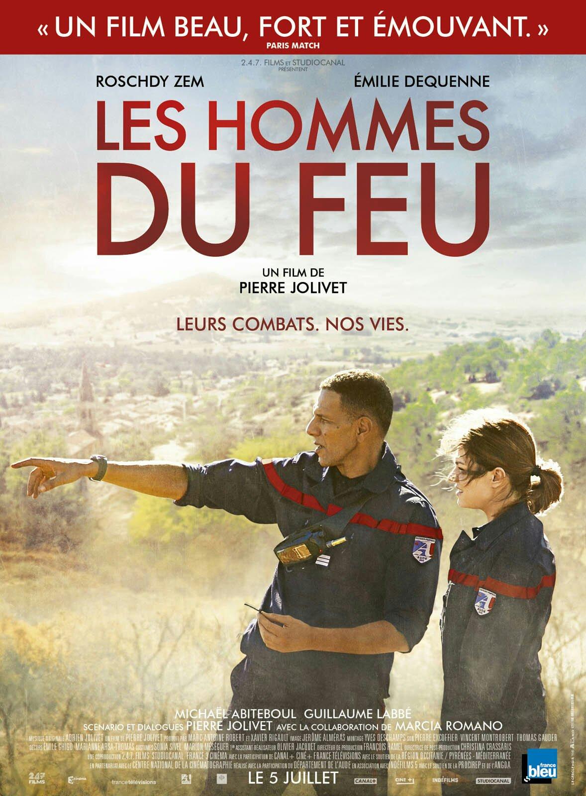 Affiche LES HOMMES DU FEU