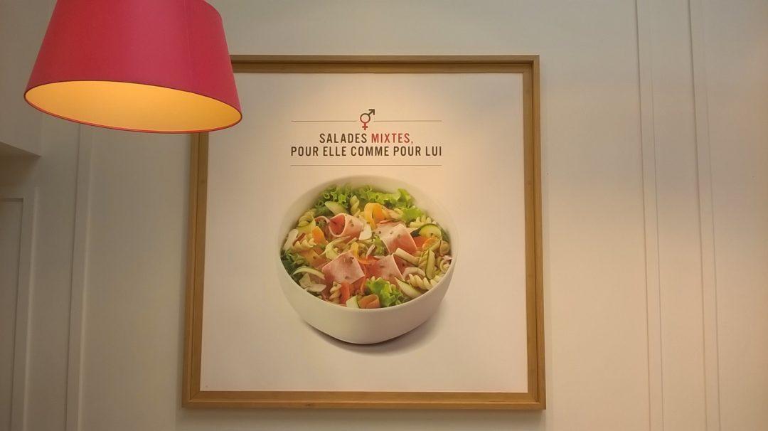 Salade Mixte à la Brioche Doré